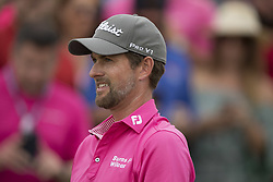 May 13, 2018 - Ponte Vedra Beach, FL, USA - The Players Championship 2018 at TPC Sawgrass..Webb Simpson on 18  tee.  He won the TPC at 18 under (Credit Image: © Bill Frakes via ZUMA Wire)