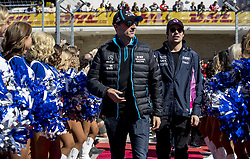 November 3, 2019, Austin, United States of America: Motorsports: FIA Formula One World Championship 2019, Grand Prix of United States, .#88 Robert Kubica (POL, ROKiT Williams Racing), #18 Lance Stroll (CAN, Racing Point F1 Team) (Credit Image: © Hoch Zwei via ZUMA Wire)