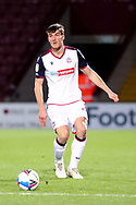 Ryan Delaney during the EFL Sky Bet League 2 match between Scunthorpe United and Bolton Wanderers at the Sands Venue Stadium, Scunthorpe, England on 24 November 2020.