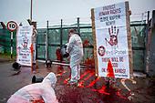 Napier Barracks Protest