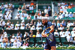 May 30, 2018 - Paris, U.S. - PARIS, FRANCE - MAY 30: BENOIT PAIRE (FRA) during day four match of the 2018 French Open 2018 on May 30, 2018, at Stade Roland-Garros in Paris, France. (Photo by Chaz Niell/Icon Sportswire) (Credit Image: © Chaz Niell/Icon SMI via ZUMA Press)