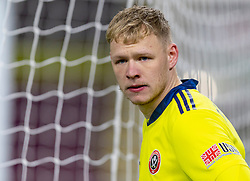 BURNLEY, ENGLAND - Tuesday, December 29, 2020: Sheffield United's goalkeeper Aaron Ramsdale looks dejected after Burnley score the opening goal during the FA Premier League match between Burnley FC and Sheffield United FC at Turf Moor. Burnley won 1-0. (Pic by David Rawcliffe/Propaganda)