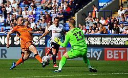 Diogo Jota of Wolverhampton Wanderers scores his sides third goal - Mandatory by-line: Matt McNulty/JMP - 21/04/2018 - FOOTBALL - Macron Stadium - Bolton, England - Bolton Wanderers v Wolverhampton Wanderers - Sky Bet Championship