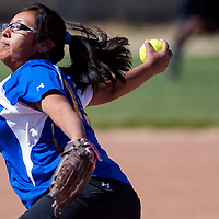 050213       Cable Hoover<br /> <br /> Zuni Thunderbird Trya Quetawki (12) pitches against the Tohatchi Cougars Thursday at Tochatchi High School.