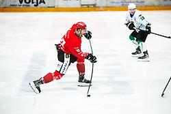 Mirko Djumic during Alps League Ice Hockey match between HDD SIJ Jesenice and HK SZ Olimpija on January 2, 2021 in Ice Arena Podmezakla, Jesenice, Slovenia. Photo by Peter Podobnik / Sportida