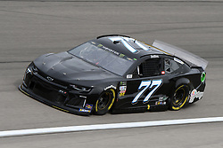March 1, 2019 - Las Vegas, NV, U.S. - LAS VEGAS, NV - MARCH 01: Reed Sorenson (77) Spire Motorsports Chevrolet Camaro ZL1 drives through turn four during practice for the Monster Energy NASCAR Cup Series 22nd Annual Pennzoil 400 on March 1, 2019, at the Las Vegas Motor Speedway in Las Vegas, Nevada. (Photo by Michael Allio/Icon Sportswire) (Credit Image: © Michael Allio/Icon SMI via ZUMA Press)