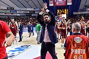 Gianmarco Pozzecco<br /> Umana Reyer Venezia - Banco di Sardegna Dinamo Sassari<br /> LBA Serie A Postemobile 2018-2019 Playoff Finale Gara 1<br /> Mestre, 10/06/2019<br /> Foto L.Canu - Ciamillo-Castoria