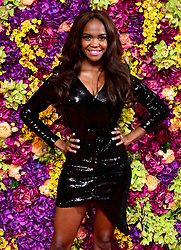 Oti Mabuse attending the Crazy Rich Asians Premiere held at Ham Yard Hotel, London.