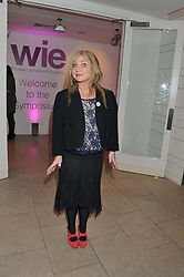 HELEN LEDERER at the annual WIE (Women: inspiration and enterprise) Awards held after the WIE Symposium... A day of inspirational talks by thought leaders and opinion formers to give young women the tools to succeed in business and life held at The Hospital Club, Endell Street, London on 8th March 2012.