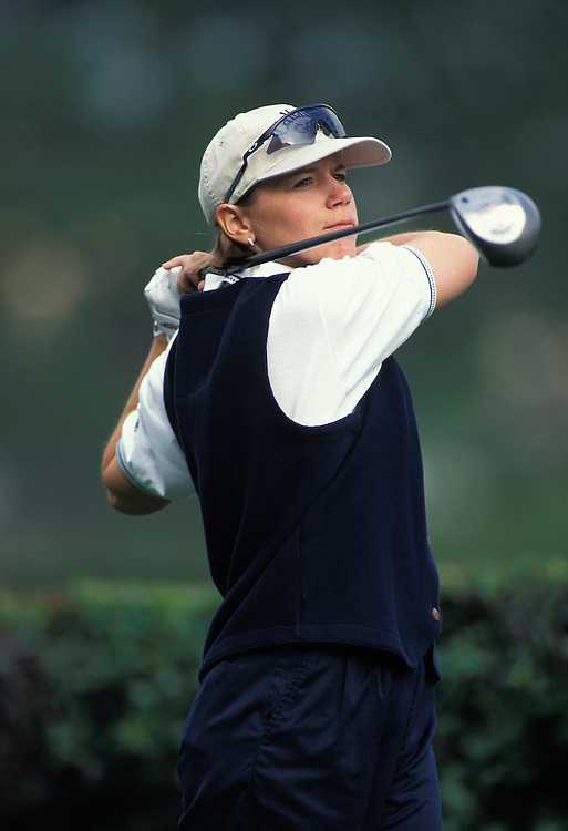 Annika Sorenstam in 2002 at the Samsung World Championship in Vallejo, CA. She won the tournament.