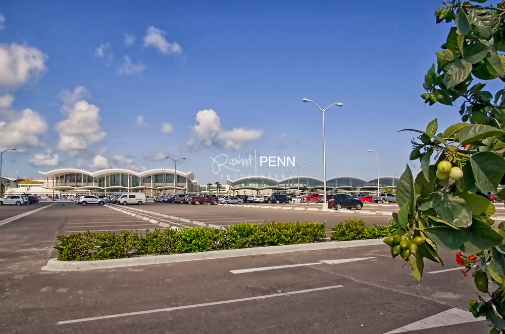 Lynden Pindling International Airort on New Providence Island in the Bahamas. A major gateway into the Bahamas from around the world and a stop over destination for travelers to the Bahamas' southern islands.