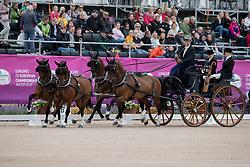 Sandmann Christoph, GER, Amico, Bo Liberator, Fredie, Wanita 5, Wierd<br /> FEI European Driving Championships - Goteborg 2017 <br /> © Hippo Foto - Stefan Lafrenz