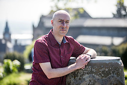 Chris Brookmyre. The Caledonian Challenge Bloody Scotland Writers Team in Stirling for the launch of Bloody Scotland.