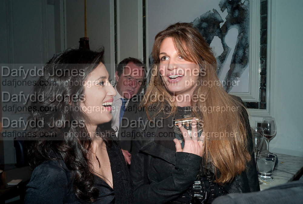 FATIMA BHUTTO; JEMIMA KHAN, Henry Porter hosts a launch for Songs of Blood and Sword by Fatima Bhutto. The Artesian at the Langham London. Portland Place. 15 April 2010.