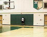 Monterey Trail Basketball Practice