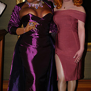 Peppermint and Jinkx Monsoon presenters of the Gay Times Honours on 18th November 2017 at the National Portrait Gallery in London, UK.