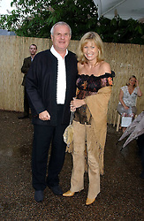 PAUL & ALISON MYNERS he is chairman of M&S at the annual Serpentine Gallery Summer Party co-hosted by Jimmy Choo shoes held at the Serpentine Gallery, Kensington Gardens, London on 30th June 2005.<br />