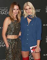Charlotte de Carle & Ashley James, Gigi Hadid x Maybelline Party, Hotel Gigi Mortimer Street, London UK, 07 November 2017, Photo by Brett D. Cove