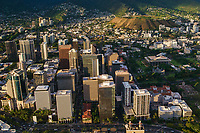 Downtown Honolulu & Punchbowl Crater