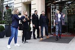 March 5, 2018 - Paris, France - US model Bella Hadid leaves her hotel in Paris, France, on March 5, 2018. (Credit Image: © Mehdi Taamallah/NurPhoto via ZUMA Press)