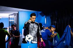 June 23, 2018 - Adler, RUSSIA - 180623 Mesut …zil  of Germany  prior the FIFA World Cup group stage match between Germany and Sweden on June 23, 2018 in Adler..Photo: Joel Marklund / BILDBYRN / kod JM / 87728 (Credit Image: © Joel Marklund/Bildbyran via ZUMA Press)