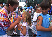 York Co., PA, Hanover Festival, Face Painting