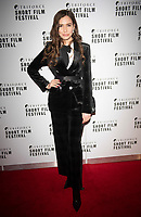 Julia Varvara at the TriForce Short Film Festival gala ceremony, BFI Southbank, London, UK - 30 Nov 2019