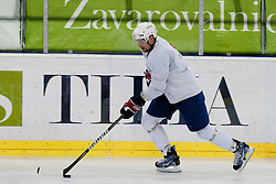 Andrej Tavzelj at Slovenian National Team First Ice Hockey Practice for IIHF World Championship in Bratislava, on April 11, 2011 at Hala Tivoli,  Ljubljana, Slovenia. (Photo By Matic Klansek Velej / Sportida.com)