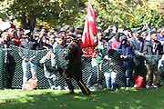 Washington, D.C-Oct 10:  Audience attends the Million Man March 20th Anniversary March aka JusticeOrElse March held in Washington, D.C. on October 10, 2015.  Photo by Terrence Jennings/terrencejennings.com