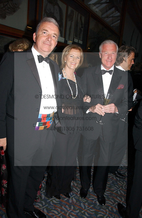Left to right, ADMIRAL SIR ALAN WEST,  PRINCESS ANNI-FRID REUS VON PLAUEN she was Frida from pop group ABBA and SVANTE PAHLOSM-MOLLER at a gala dinner in the presence of HM Quenn Silvia of Sweden and HM Queen Noor of Jordan in aid of the charity Mentor held at the Natural History Museum, Cromwell Road, London on 23rd May 2006.<br /><br />NON EXCLUSIVE - WORLD RIGHTS