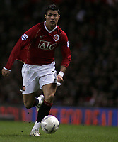 Photo: Paul Thomas.<br /> Manchester United v Middlesbrough. The FA Cup, Quarter Final replay. 19/03/2007.<br /> <br /> Cristiano Ronaldo of Utd.