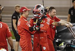 March 30, 2019 - Sakhir, Bahrain - Motorsports: FIA Formula One World Championship 2019, Grand Prix of Bahrain, ..#5 Sebastian Vettel (GER, Scuderia Ferrari Mission Winnow), #16 Charles Leclerc (MCO, Scuderia Ferrari Mission Winnow) (Credit Image: © Hoch Zwei via ZUMA Wire)