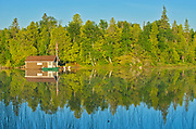 Cottage on Snake Island Lake in the White Bear Forest Conservation Reserve<br />