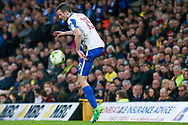 Brighton & Hove Albion winger Jamie Murphy (15) controls the ball  during the EFL Sky Bet Championship match between Norwich City and Brighton and Hove Albion at Carrow Road, Norwich, England on 21 April 2017. Photo by Simon Davies.