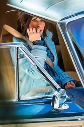 EXCLUSIVE: Sandra Bullock and Sarah Paulson seen on set of 'Bird box' in Los Angeles, CA. 13 Jan 2018 Pictured: Sandra Bullock. Photo credit: MEGA TheMegaAgency.com +1 888 505 6342