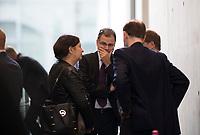 DEU, Deutschland, Germany, Berlin, 26.09.2017: Jürgen Braun (MdB, AfD) vor der ersten Fraktionssitzung der AfD-Bundestagsfraktion im Deutschen Bundestag.