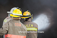 63818-02602 Firefighters at oilfield tank training, Marion Co., IL