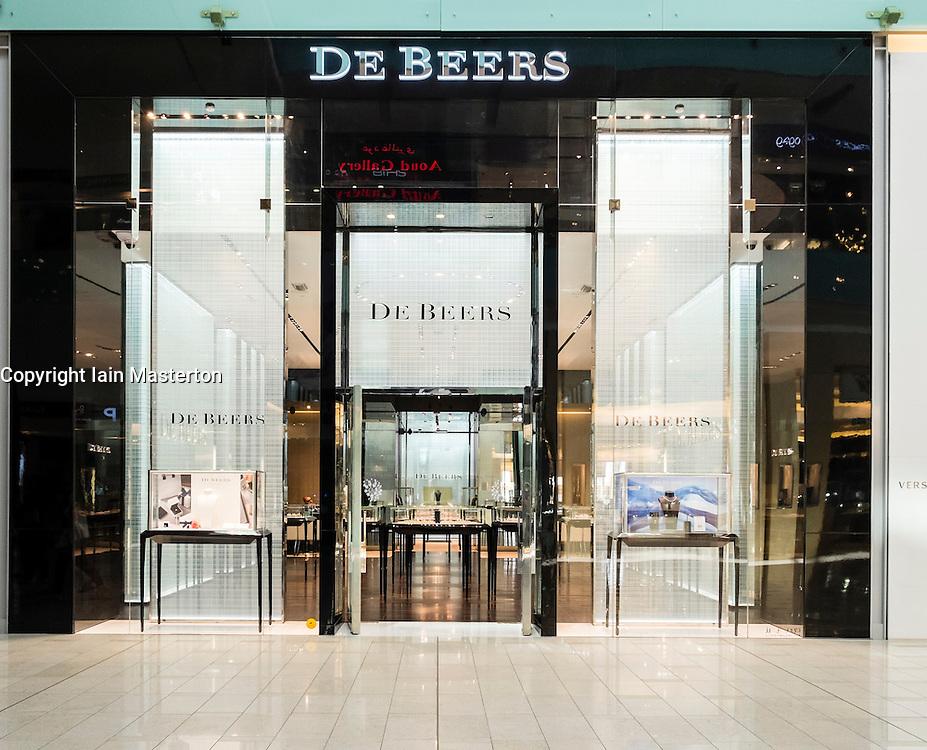 De Beers shop in Dubai Mall United Arab Emirates