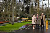 Kroonprinses Victoria bij de opening van de Keukenhof