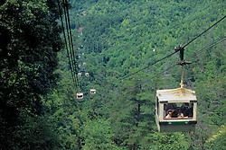 Cable Car To Mt Misen