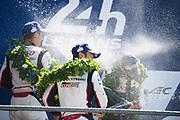 TOYOTA GAZOO  Racing. <br /> Le Mans 24 Hours Race, 12th to 18th June 2017<br /> Circuit de la Sarthe, Le Mans, France.