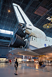 Space Shuttle Discovery Engines, Air & Space Museum - Steven F. Udvar-Hazy Center