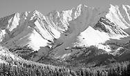 Summer Snow, Storm Mountain, Kananaskis