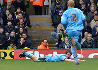 Photo: Ashley Pickering.<br />Norwich City v Coventry City. Coca Cola Championship. 24/02/2007.<br />Jay Tabb of Coventry (L) celebrates his opening goal (0-1)