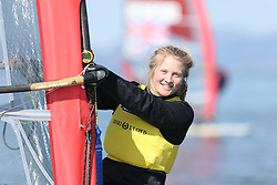 Image Credit Marc Turner..RSX Girls, 956, Saskia SILLS, Roadford.Day 5, RYA Youth National Championships 2013 held at Largs Sailing Club, Scotland from the 31st March - 5th April. .