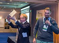 ZEIST -  Jannes Landkroon, voorzitter NGA Nationaal Golf & Groen Symposium. .  Copyright Koen Suyk