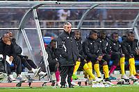 Alain Giresse  - 31.03.2015 - Ghana / Mali  - Match amical<br /> Photo : Andre Ferreira / Icon Sport