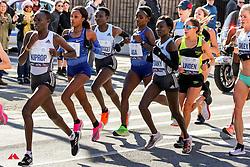 lead women in Brooklyn<br /> TCS New York City Marathon 2019