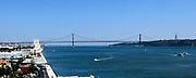 Lissabon, de hoofdstad en de grootste stad van Portugal met Torre de Belem<br /> <br /> Lisbon, the capital and largest city of Portugal with Torre de Belem
