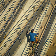 Bicycle Switchback in Los Angeles
